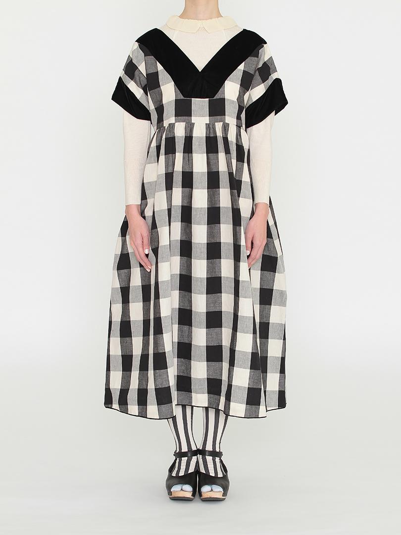 ガーデンドレス・ブラックギンガム