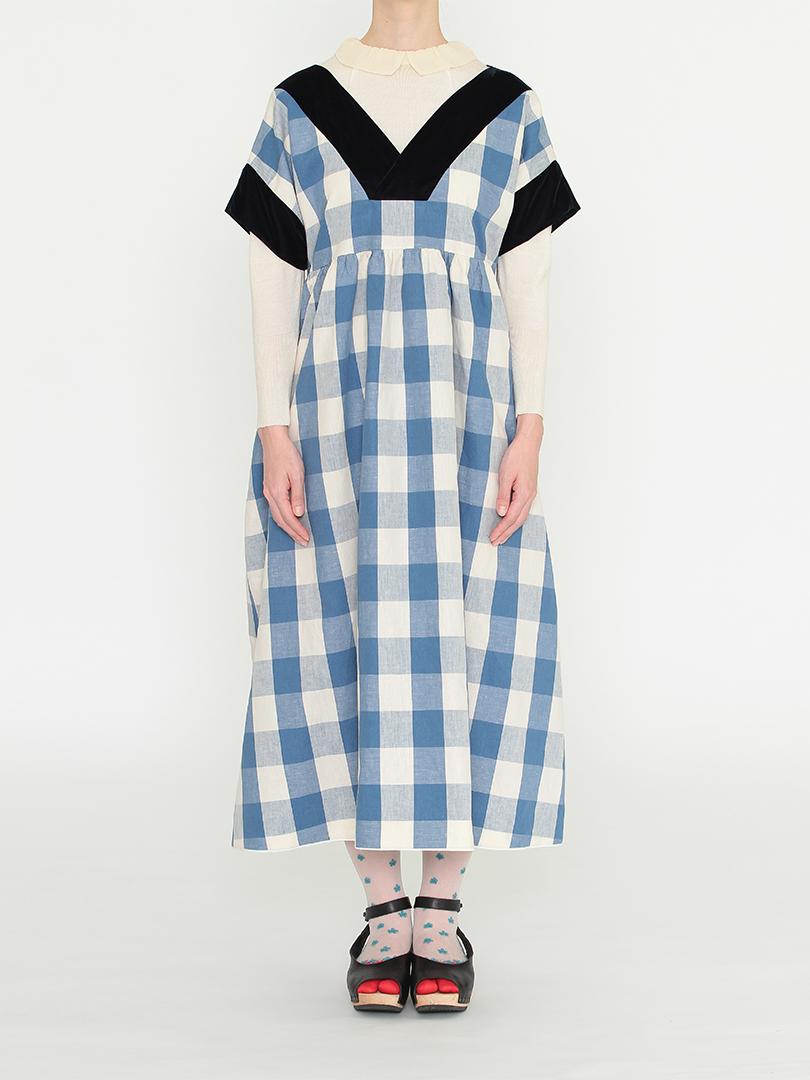 ガーデンドレス・ブルーギンガム