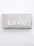 Lavie バスケット クラッチバッグ